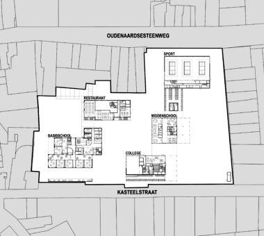Architecten Groep III St Jan Berchmans N00