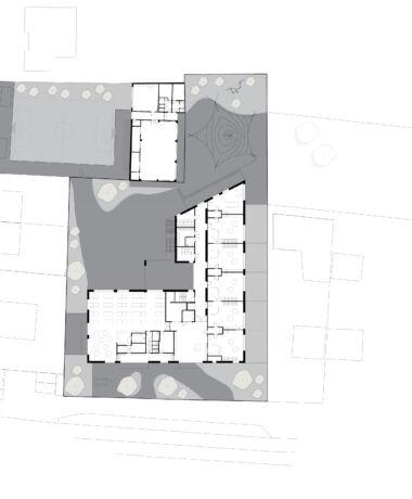 Architecten Groep III De Tandem Inplanting