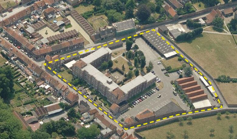 Architecten Groep III - Militaire Gebouwen Brugge