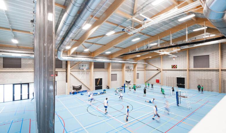Architecten Groep III - sporthal VMS